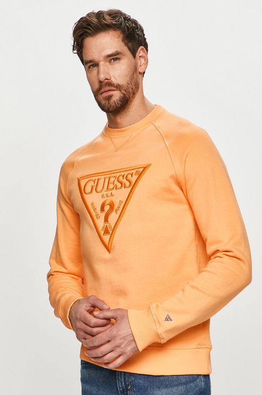 portocaliu Guess - Bluza De bărbați