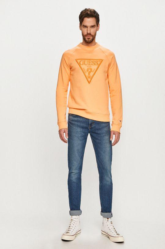 Guess - Bluza portocaliu