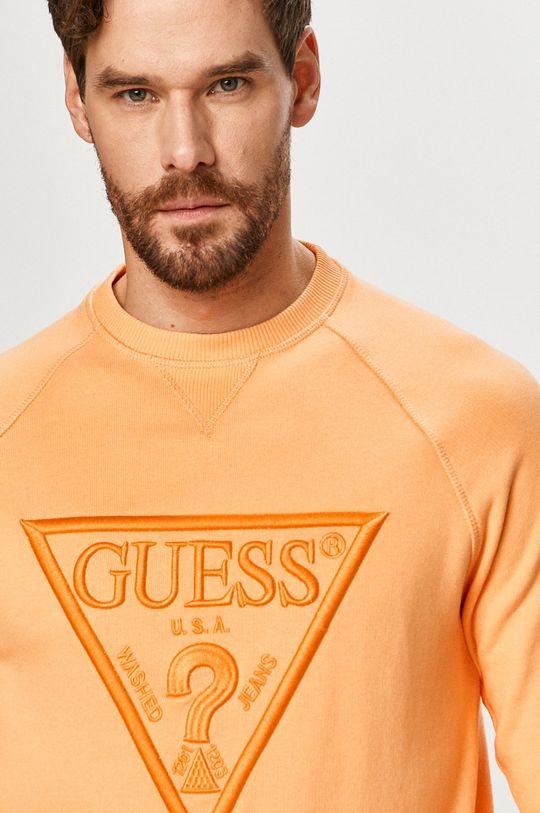 portocaliu Guess - Bluza