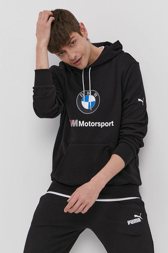 czarny Puma - Bluza x BMW Męski