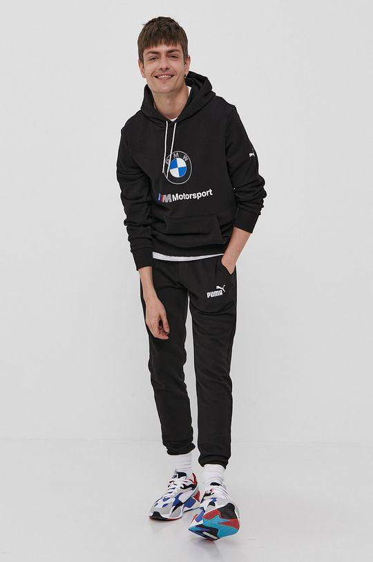 Puma - Bluza x BMW czarny