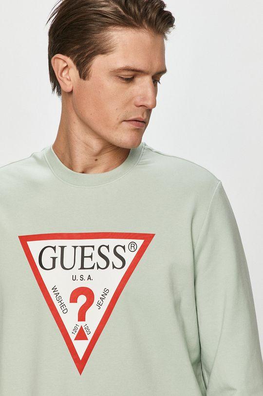 Guess - Mikina  95% Organická bavlna, 5% Elastan