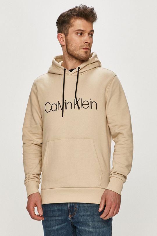 písková Calvin Klein - Bavlněná mikina