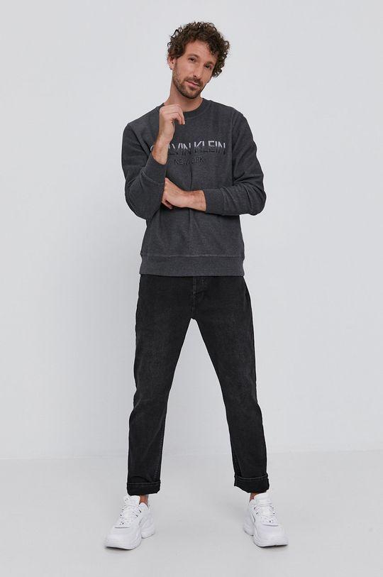 Calvin Klein - Mikina šedá