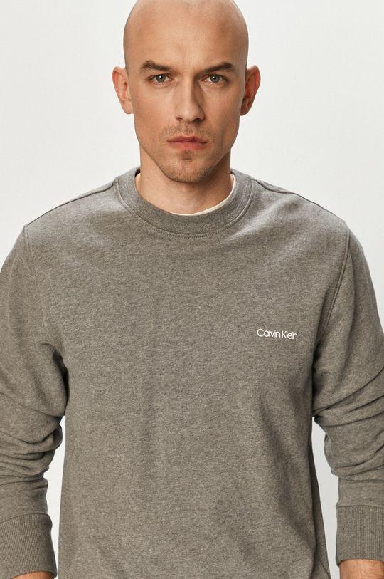 szary Calvin Klein - Bluza bawełniana