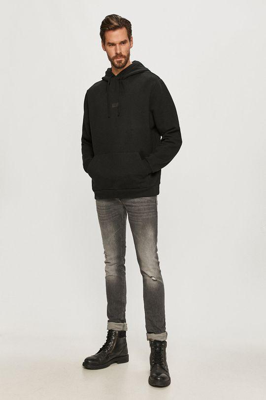 AllSaints - Bluza ELEMENT czarny