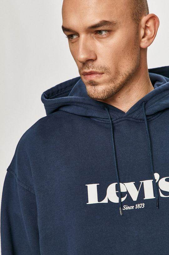 granatowy Levi's - Bluza bawełniana