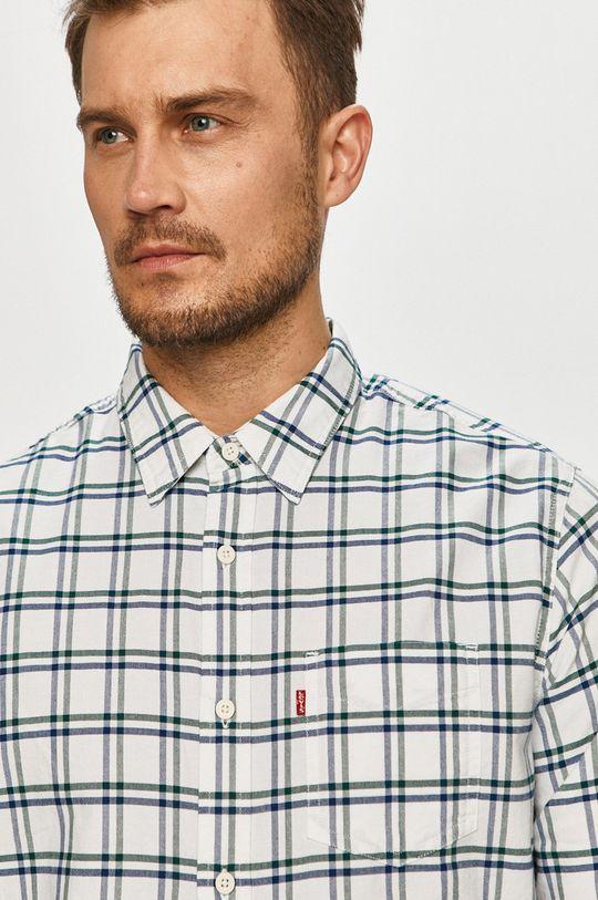 vícebarevná Levi's - Bavlněná košile Pánský