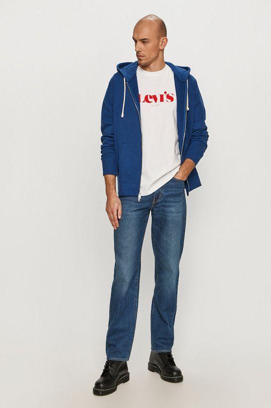 Levi's - Bluza bawełniana niebieski