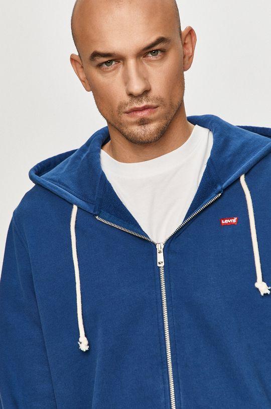 niebieski Levi's - Bluza bawełniana
