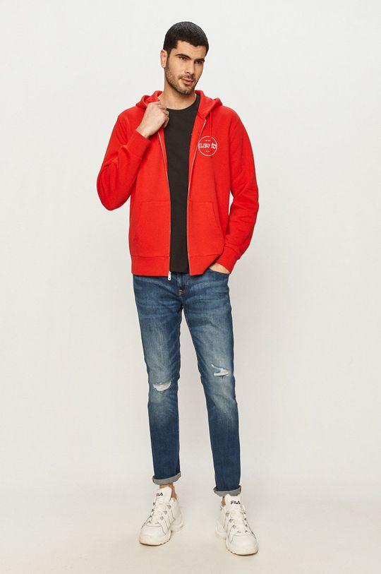 Levi's - Mikina červená