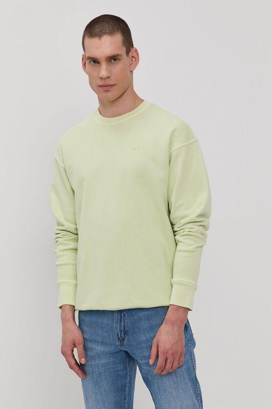 zielony Levi's - Bluza Męski