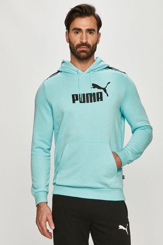 jasny niebieski Puma - Bluza Męski
