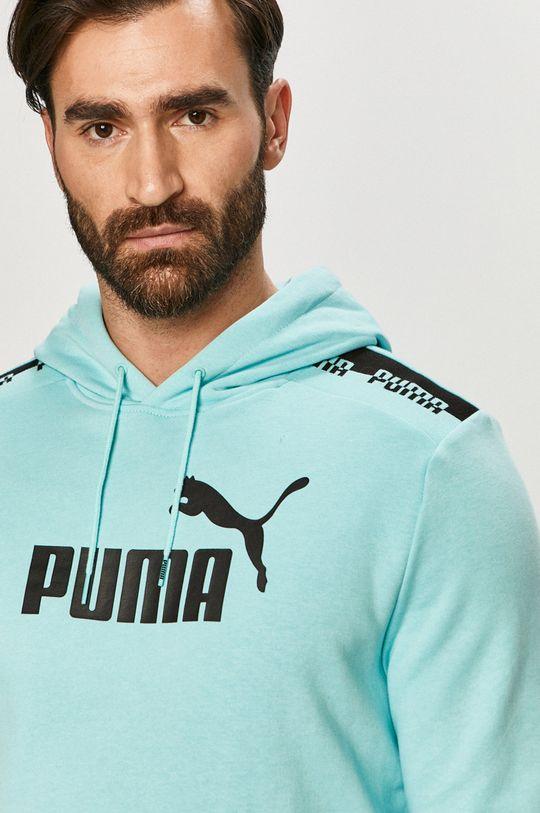 jasny niebieski Puma - Bluza
