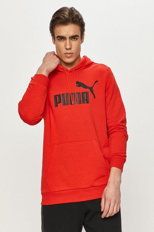 czerwony Puma - Bluza Męski