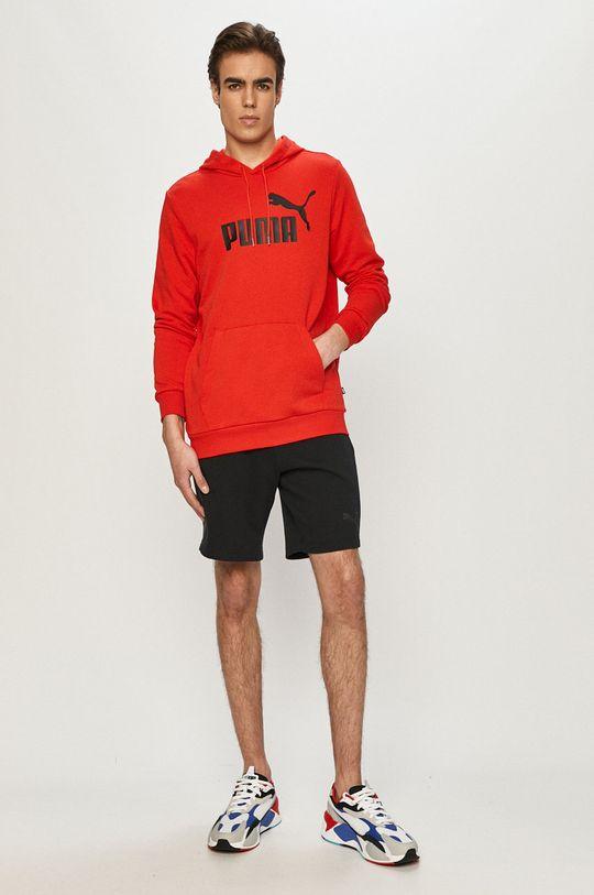 Puma - Bluza czerwony