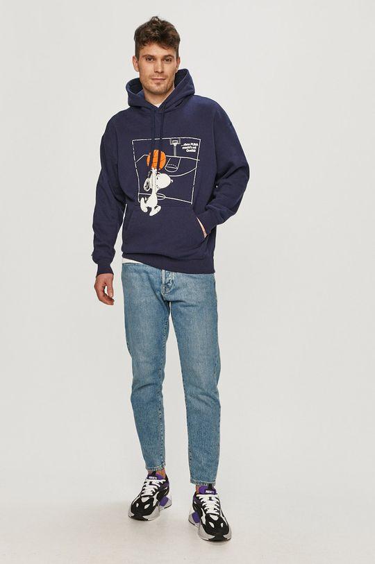 Puma - Mikina x Peanuts námořnická modř