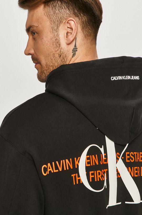 czarny Calvin Klein Jeans - Bluza bawełniana