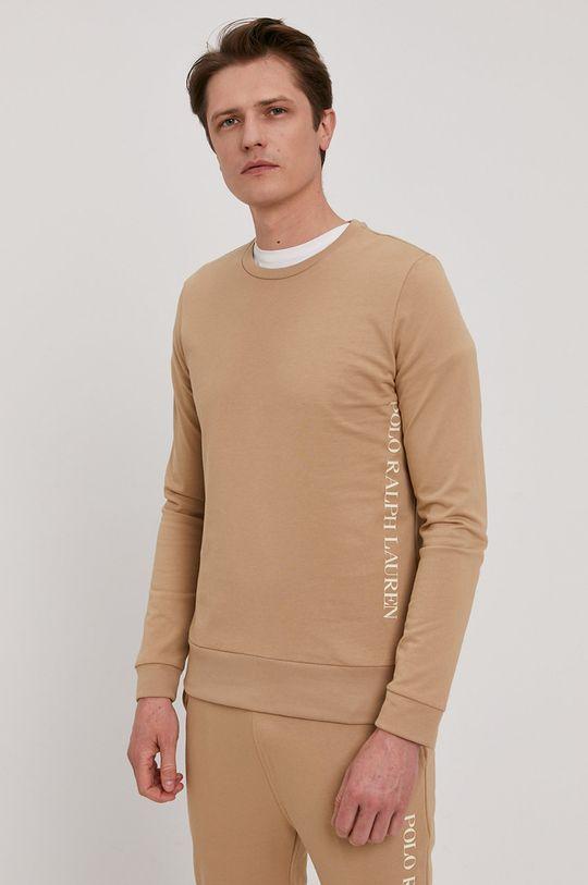 beżowy Polo Ralph Lauren - Bluza Męski