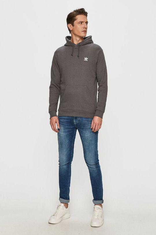 adidas Originals - Bluza bawełniana szary