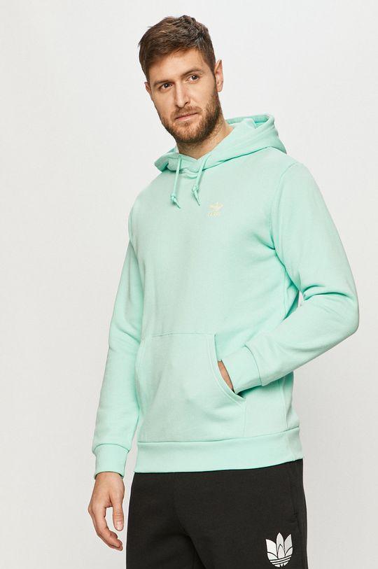 blady turkusowy adidas Originals - Bluza Męski