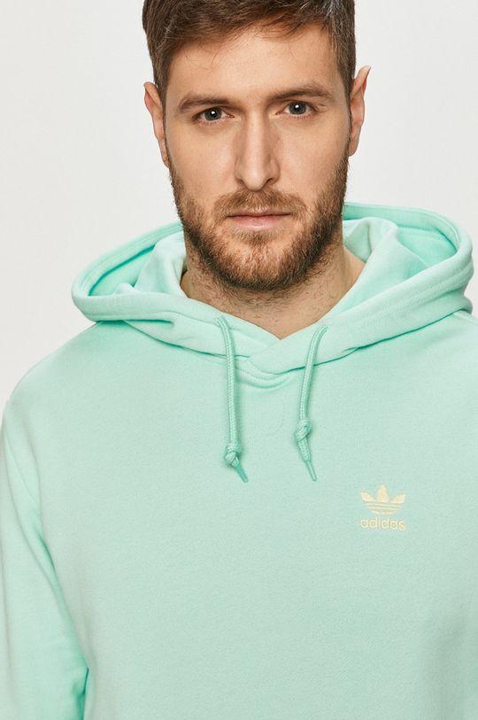 blady turkusowy adidas Originals - Bluza