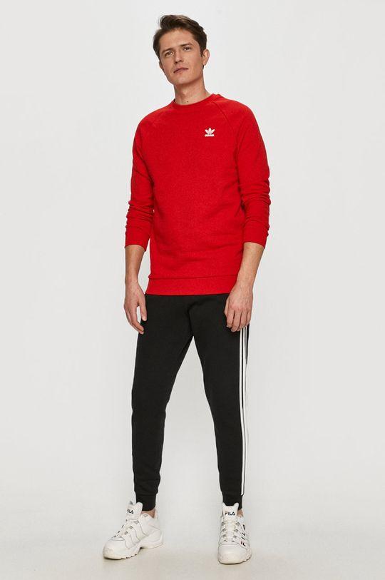 adidas Originals - Bavlnená mikina červená