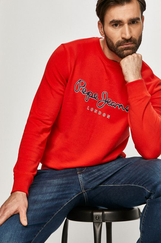 červená Pepe Jeans - Mikina George