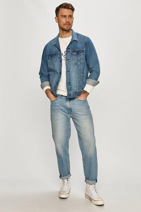 Pepe Jeans - Bavlněná mikina George bílá