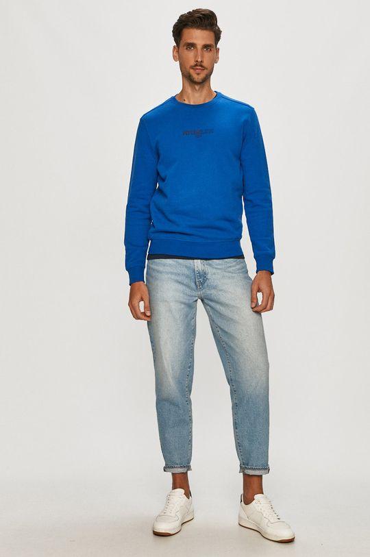 Pepe Jeans - Bluza bawełniana Elie niebieski