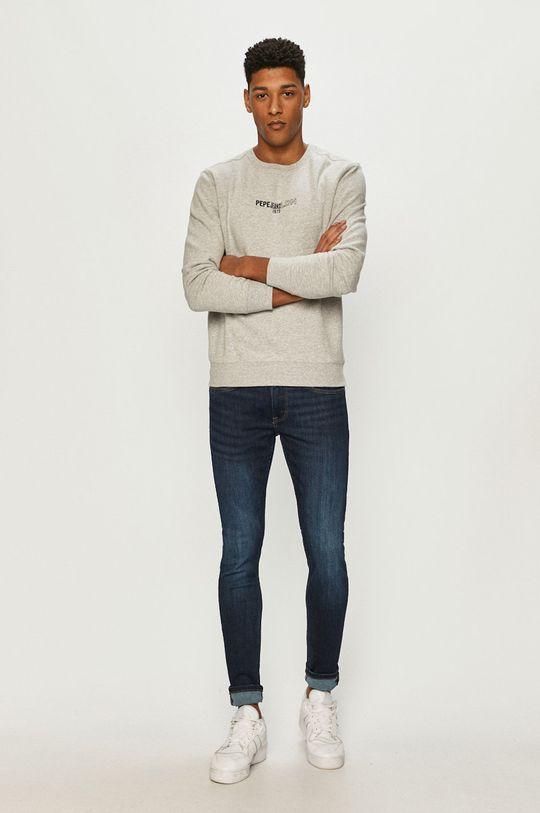 Pepe Jeans - Bluza Elie szary