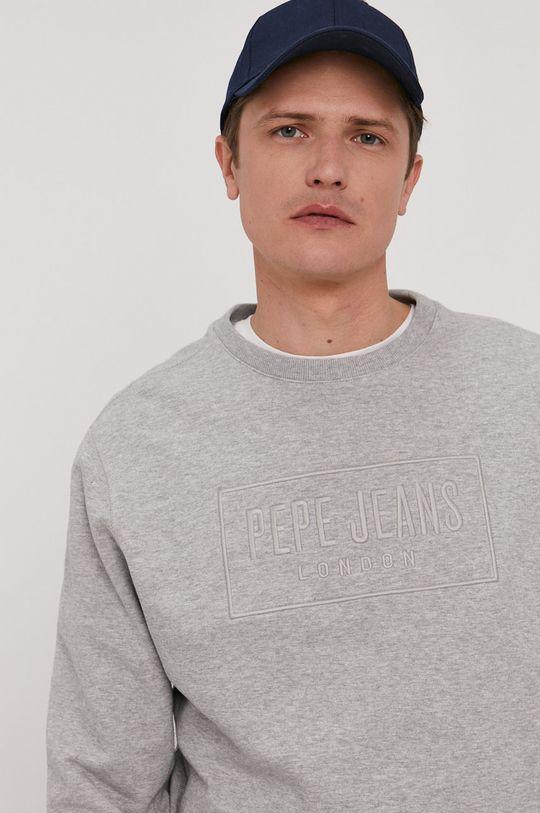 szary Pepe Jeans - Bluza Hugh