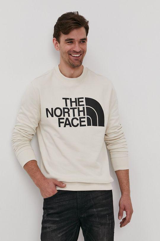 cielisty The North Face - Bluza bawełniana Męski