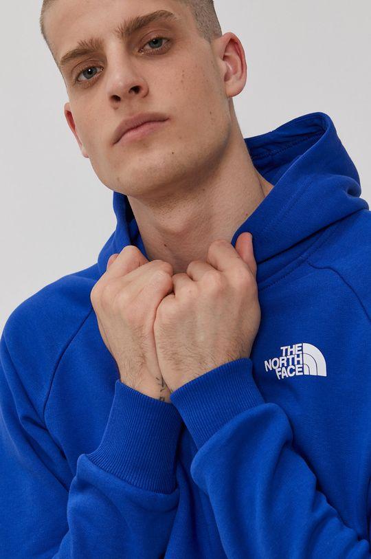 modrá The North Face - Bavlněná mikina