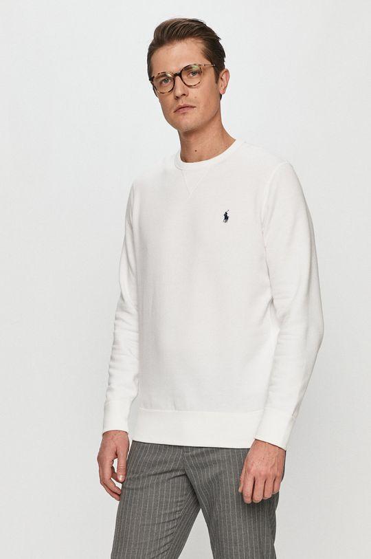 biały Polo Ralph Lauren - Bluza bawełniana Męski