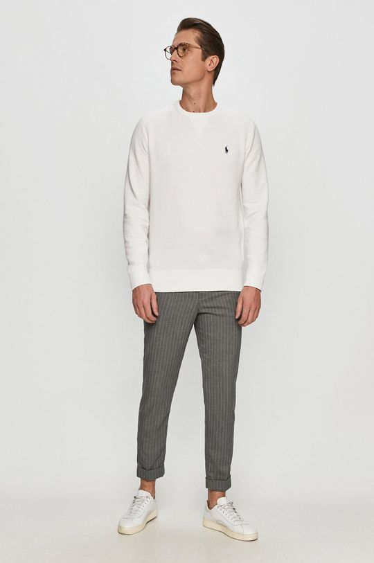 Polo Ralph Lauren - Bluza bawełniana biały