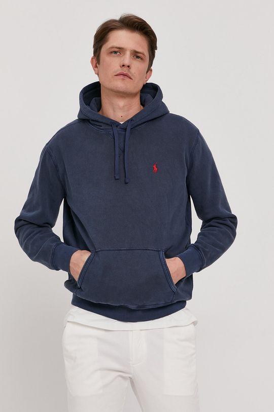 granatowy Polo Ralph Lauren - Bluza Męski