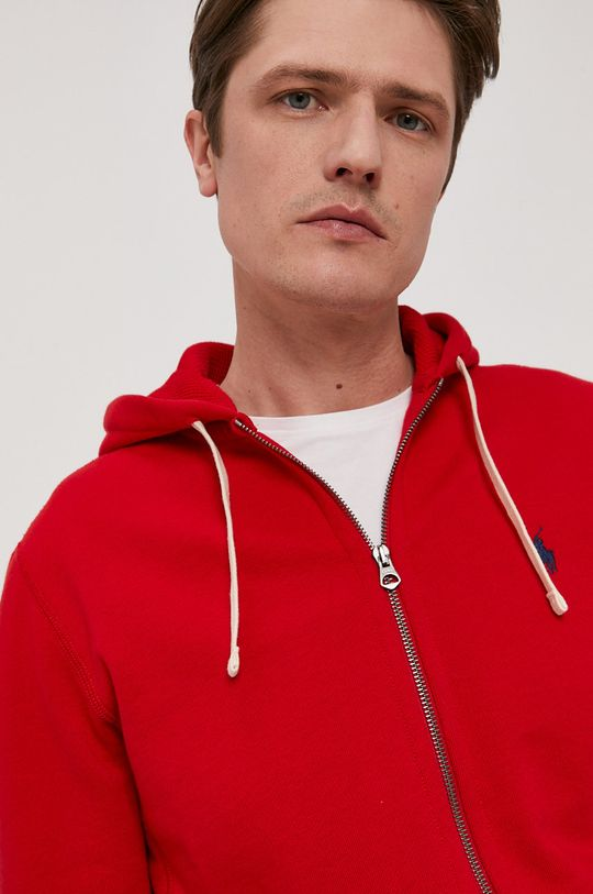 czerwony Polo Ralph Lauren - Bluza