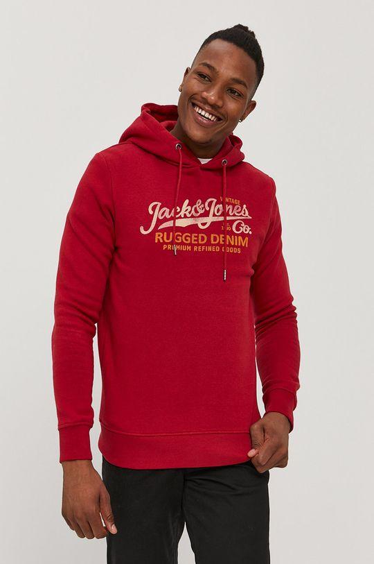 Premium by Jack&Jones - Bluza czerwony
