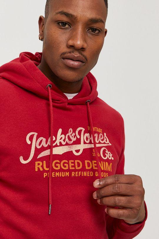 czerwony Premium by Jack&Jones - Bluza