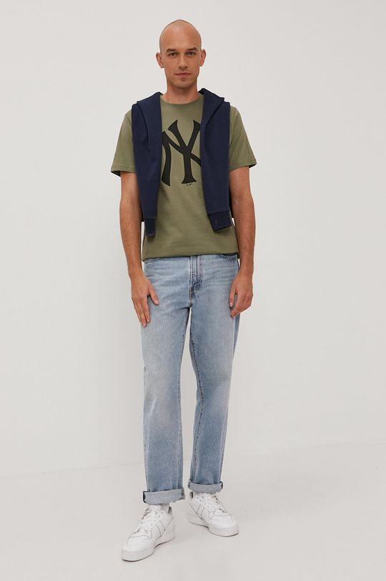 Premium by Jack&Jones - Bluza bawełniana granatowy