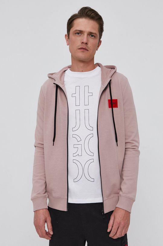 różowy Hugo - Bluza bawełniana
