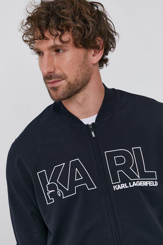 tmavomodrá Karl Lagerfeld - Mikina