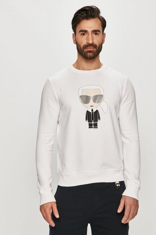 bílá Karl Lagerfeld - Mikina Pánský