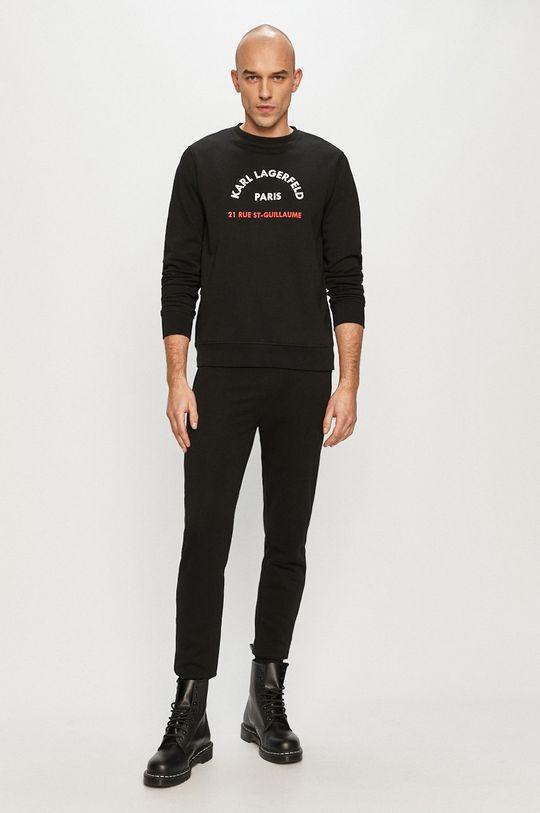 Karl Lagerfeld - Bluza czarny