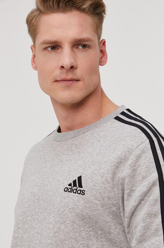 szary adidas - Bluza