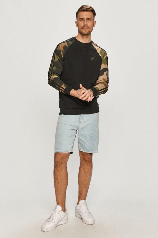 adidas Originals - Bluza bawełniana czarny