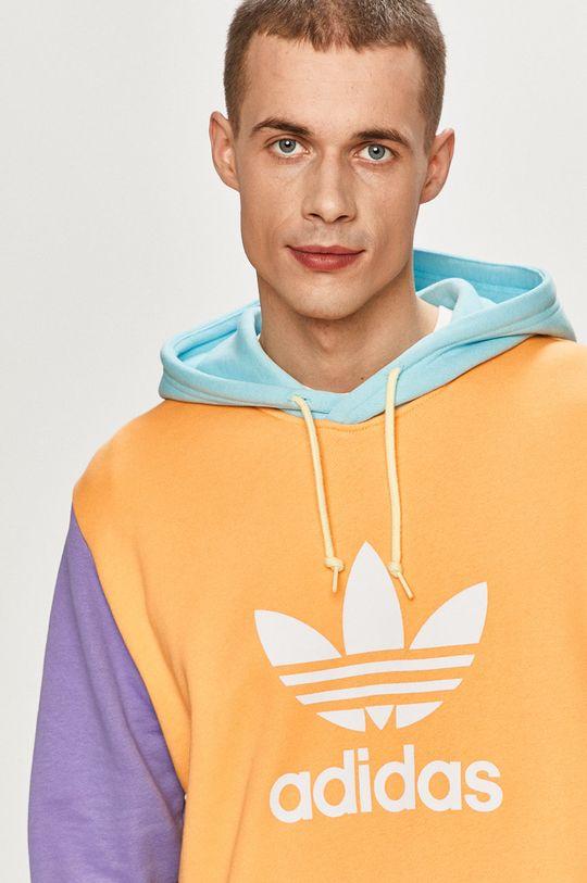 vícebarevná adidas Originals - Bavlněná mikina