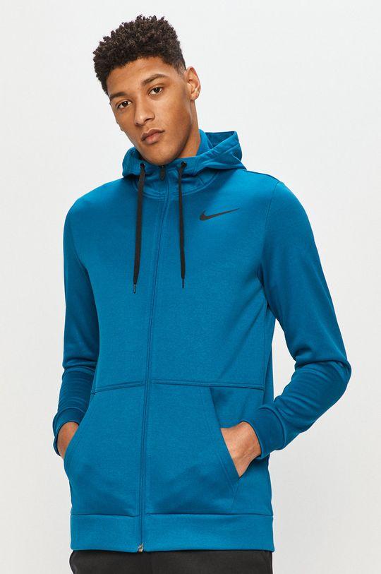 modrá Nike - Mikina Pánský