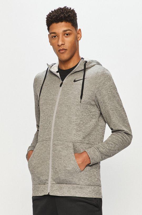 szary Nike - Bluza Męski